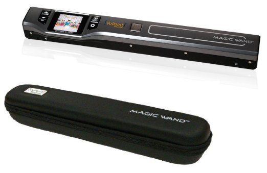 VuPoint wireless portable scanner