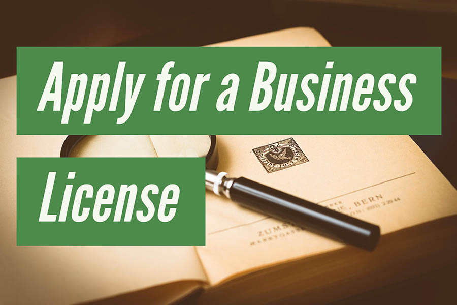 Apply for a business license
