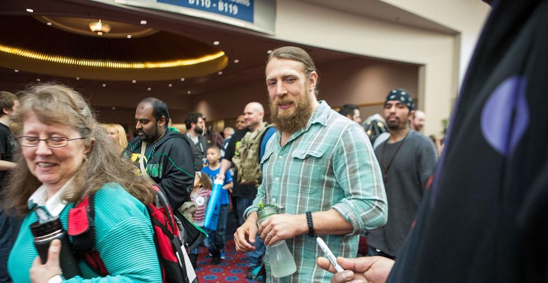 WWE Daniel Bryan Portland Comic Con 2015