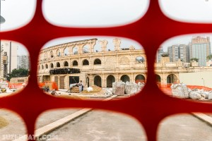 Roman Theater Macau travel photography