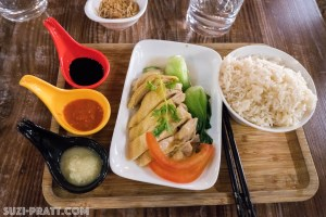 Hainanese chicken rice Macau travel photography