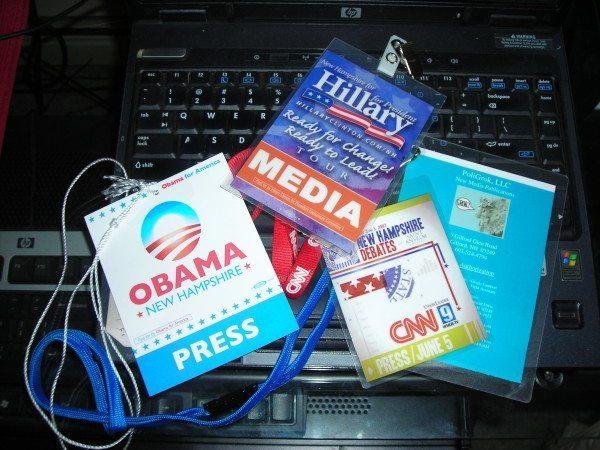 Media credentials