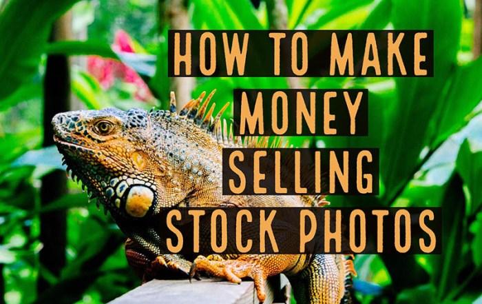 Make money selling stock photos