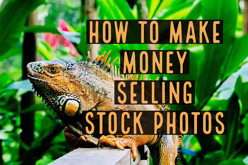 how to make money selling stock photos