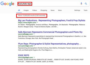 how to find a photography agent
