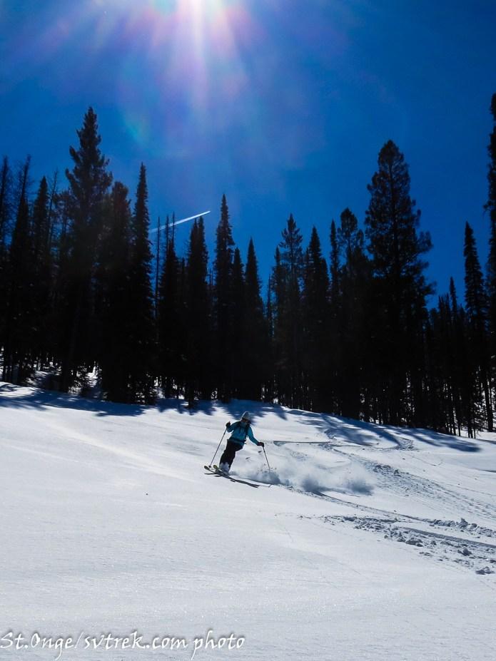 Nothing like powder under an April Sun!