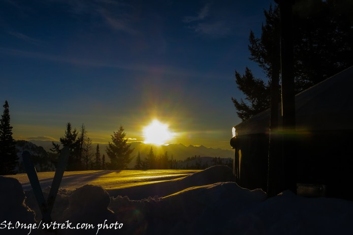 sunrise at Coyote