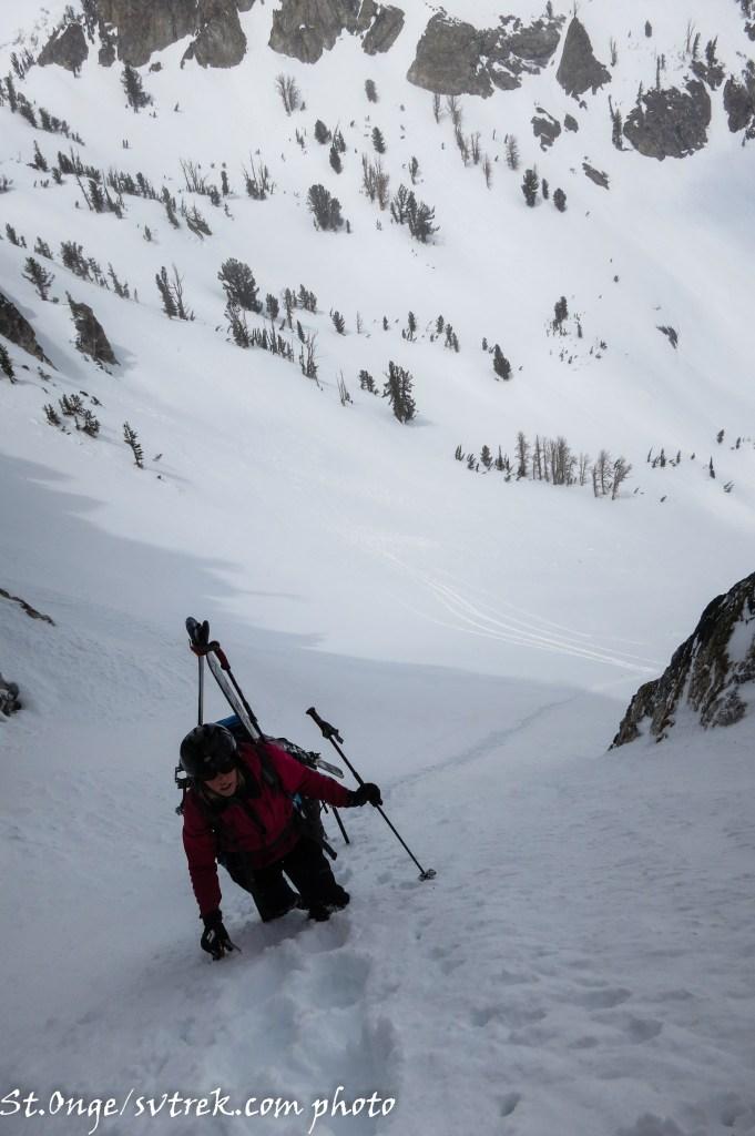 Alisa in the steeps