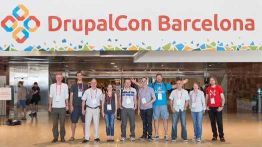 The University of Edinburgh at DrupalCon 2015 in Barcelona