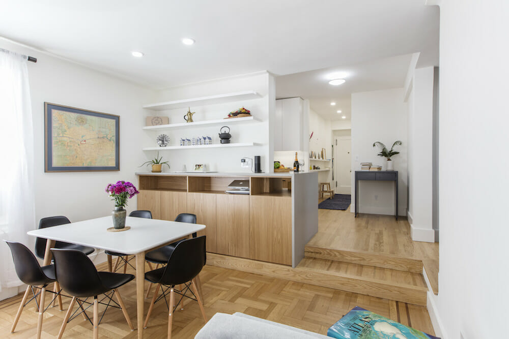 A Galley Kitchen And Sunken Living Room Get A Holistic Re