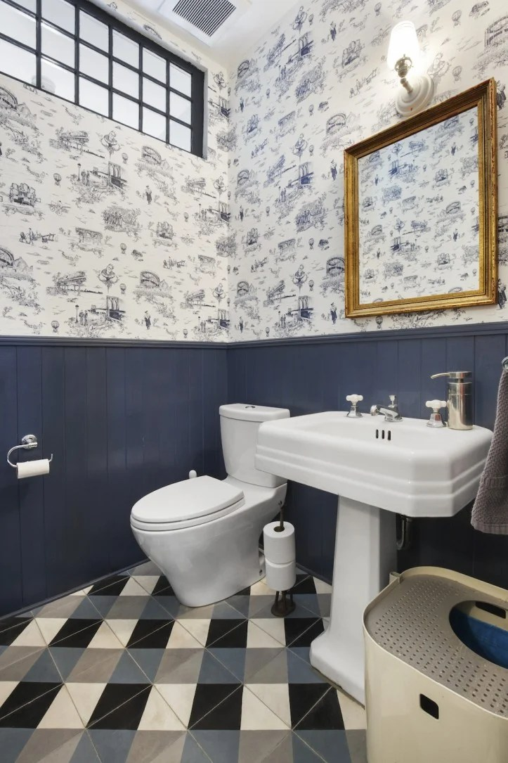 Wallpaper For Bathrooms Yes Please