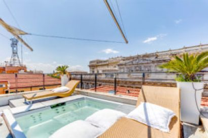 Rome Cavour Luxury Penthouse
