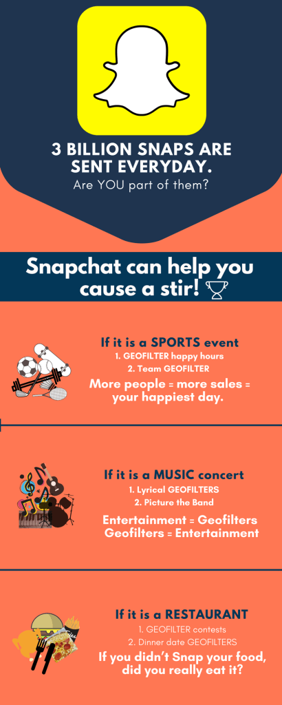 Event Snapchat Filter Ideas