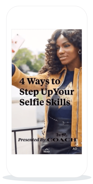 Snapchat Article Ad