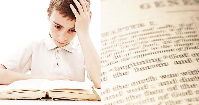 兒童閱讀困難