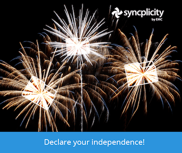 Sync, share, and declare your independence