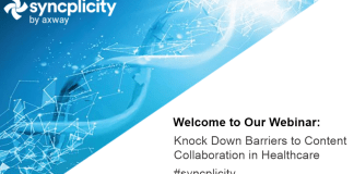 Knock down barriers to content collaboration in health care
