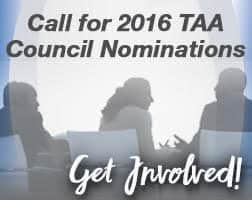 2016 TAA Council Nominations