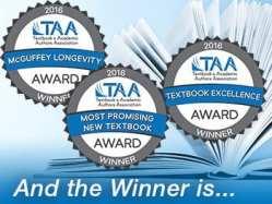 2016 TAA Textbook Award Winners