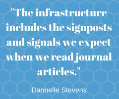 Journal article infrastructure