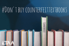 Don't buy counterfeit textbooks