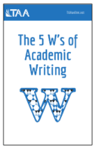 The 5Ws of Academic Writing