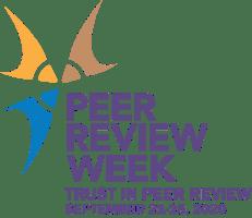 Peer Review Week 2020 - Trust in Peer Review