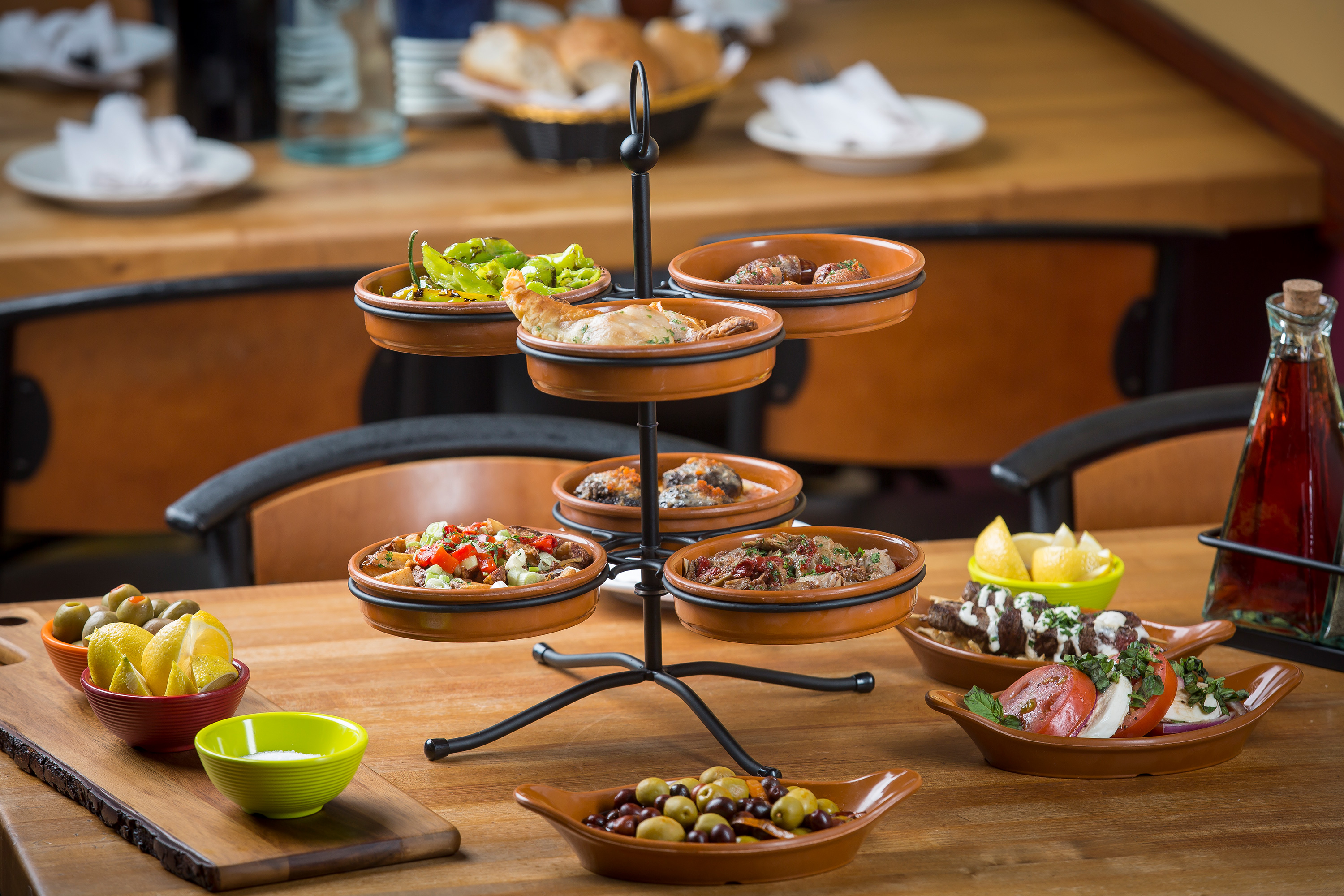 Tapas tabletop by TableCraft