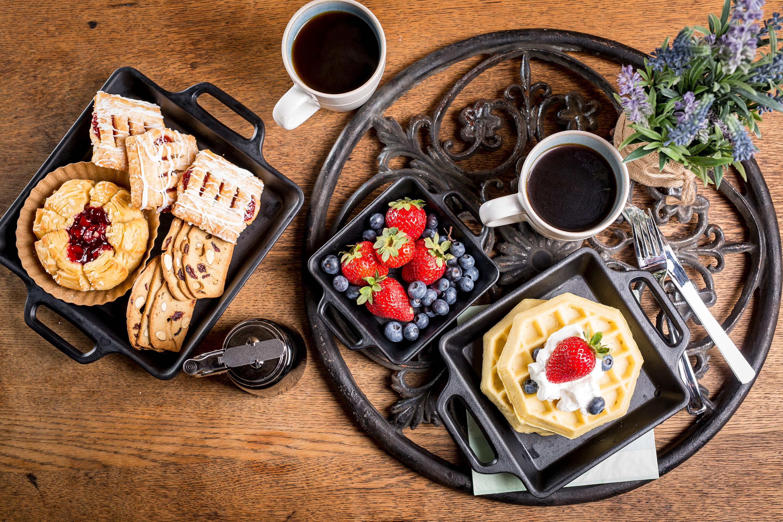 breakfast cafe tabletop by TableCraft