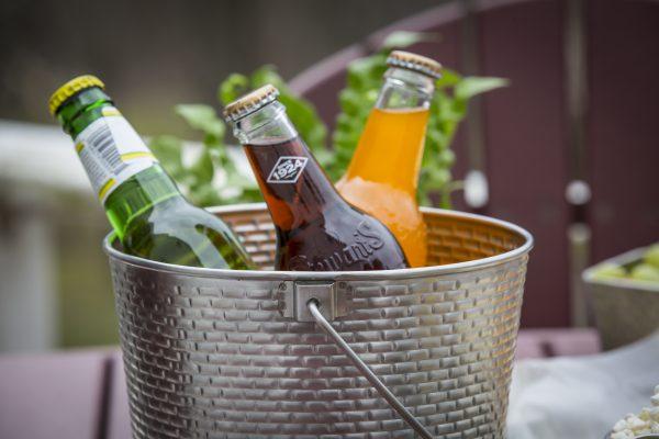 drinks in a bucket