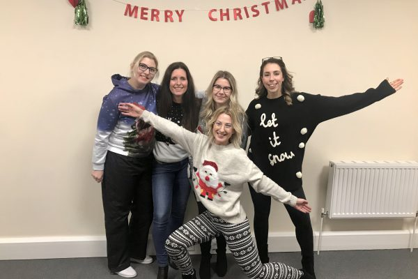 ugly jumpers from UK team 2019 christmas