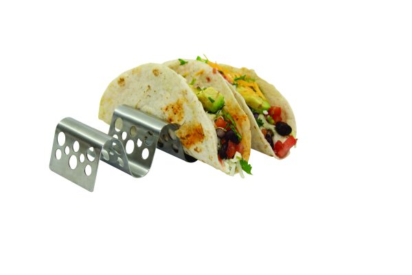 taco taxi in stainless steel