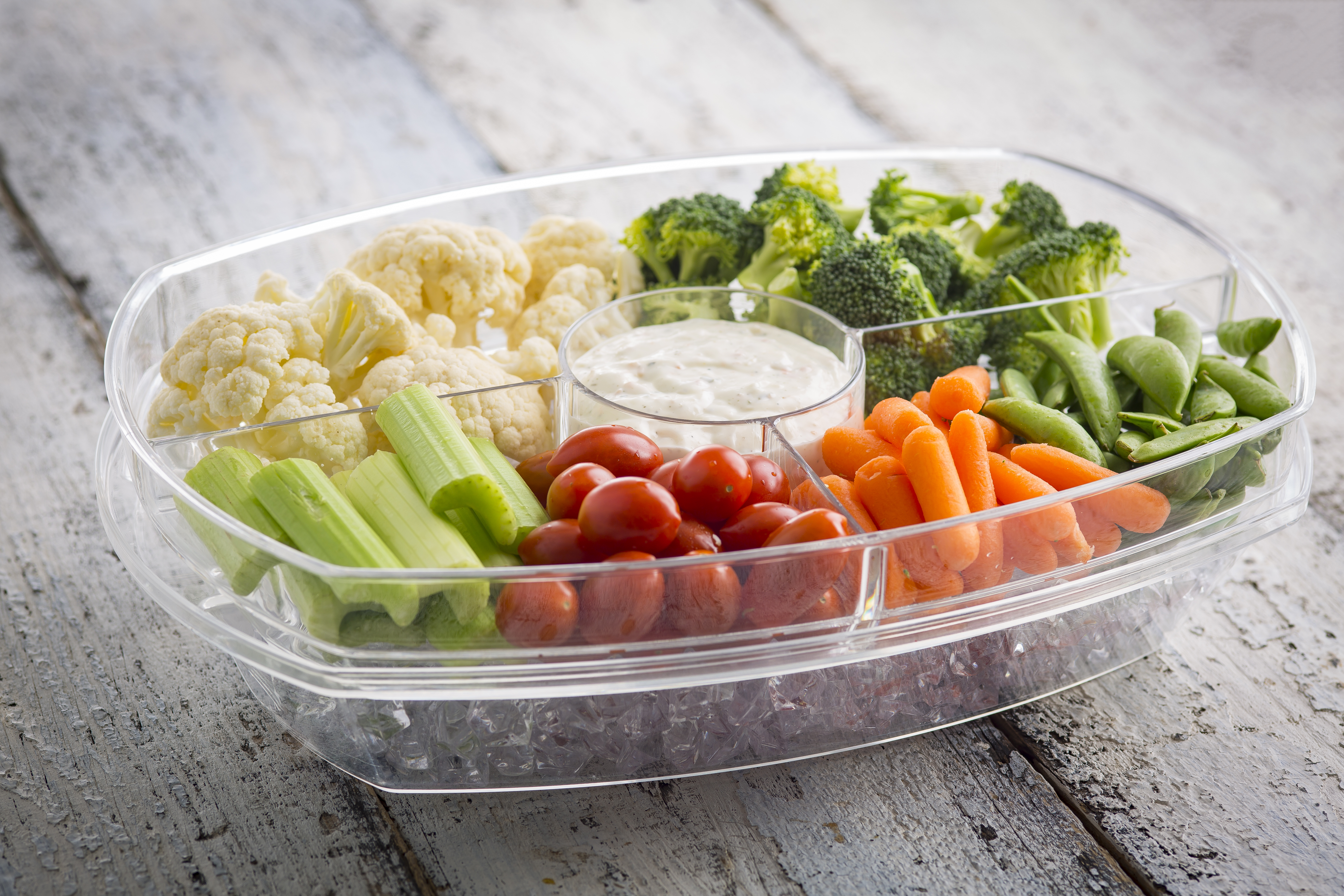 Chiller Collection Appetizer Tray 10002