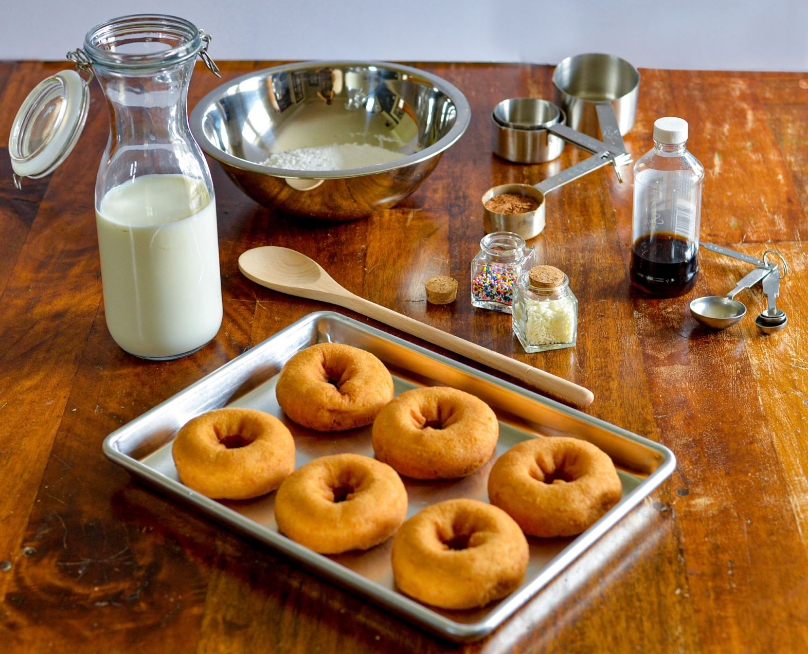 make your own donuts baked tablecraft recipes