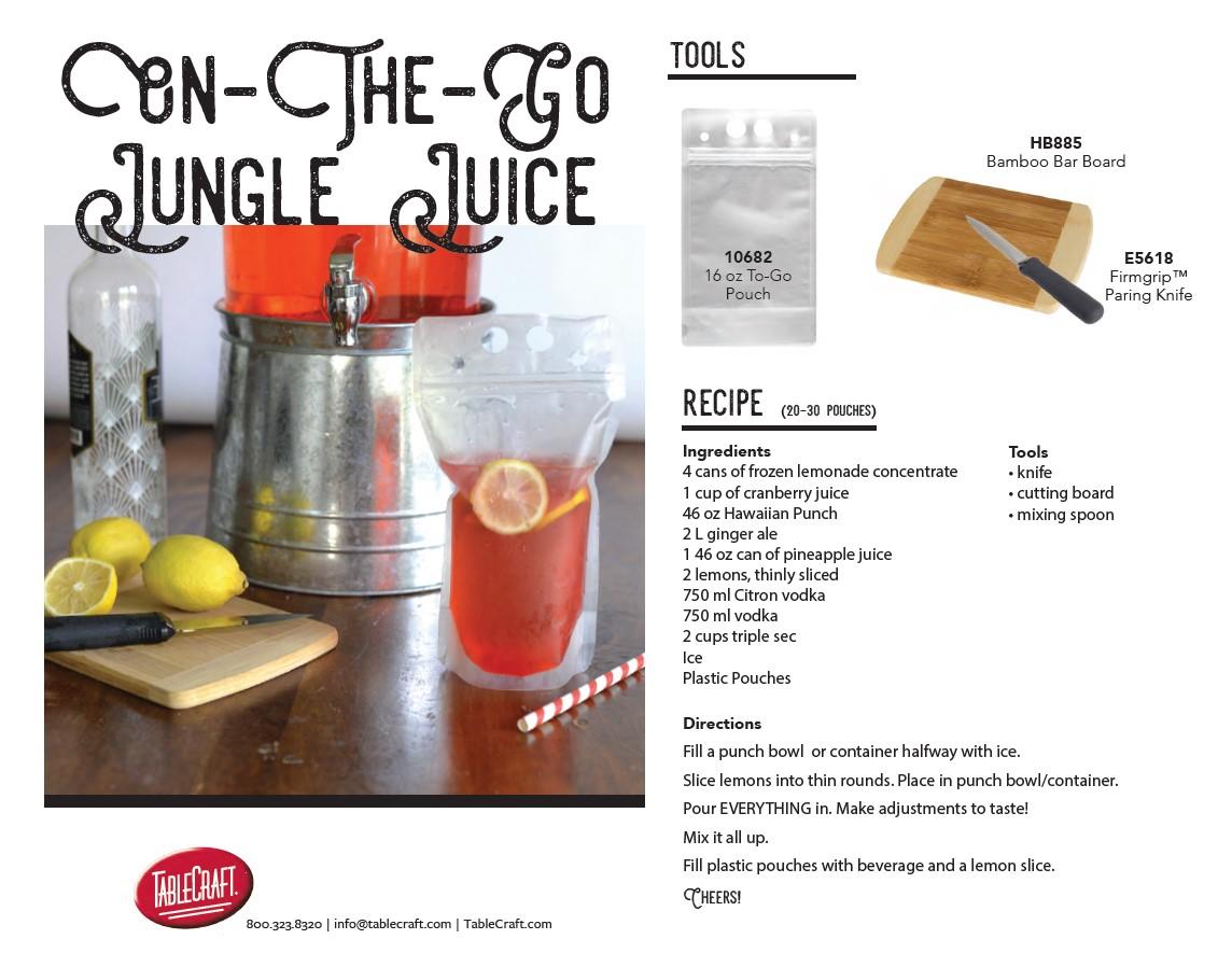 to go jungle juice recipe cover