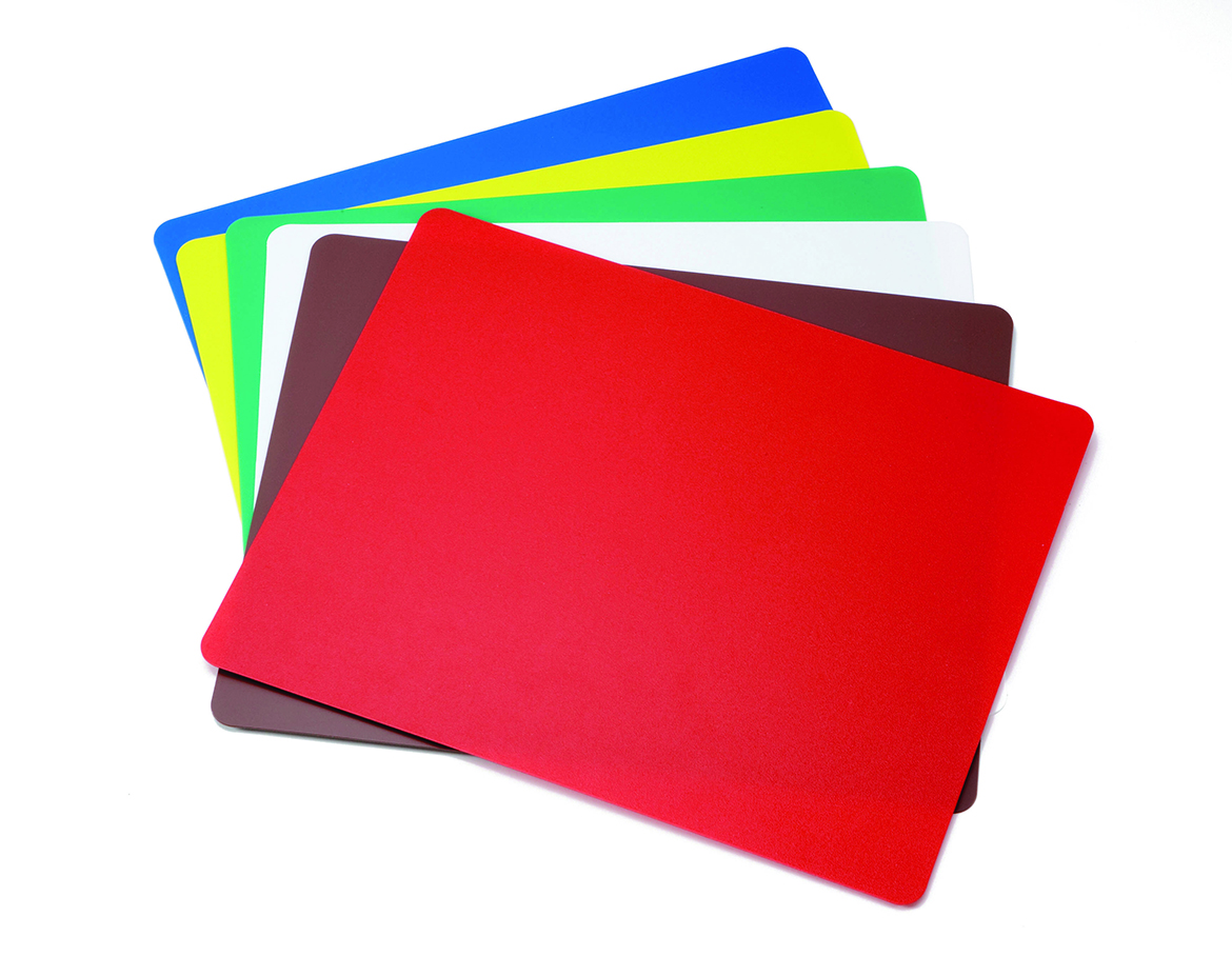 Flexible cutting boards all colours