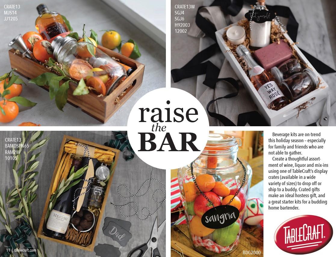 raise the bar crate gift idea TableCraft