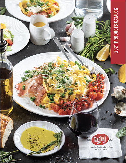 TableCraft Foodservice 2021 Catalog with foodservice solutions