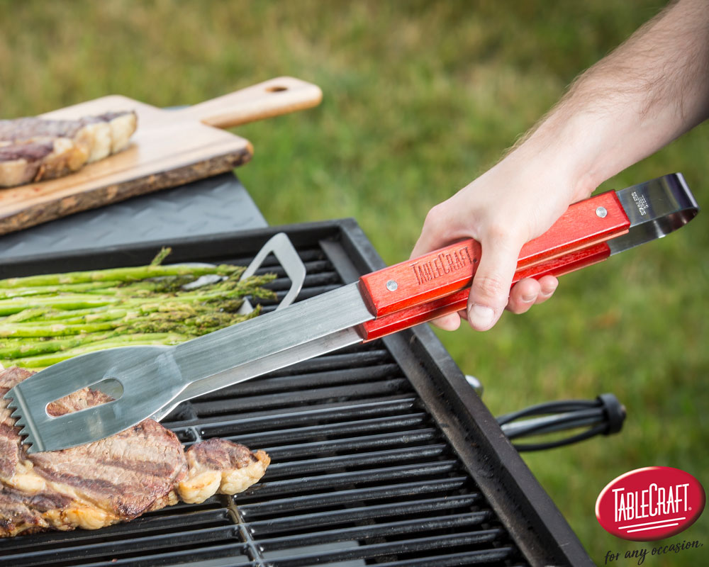 Heavy Duty Tongs BBQT TableCraft Home Grill