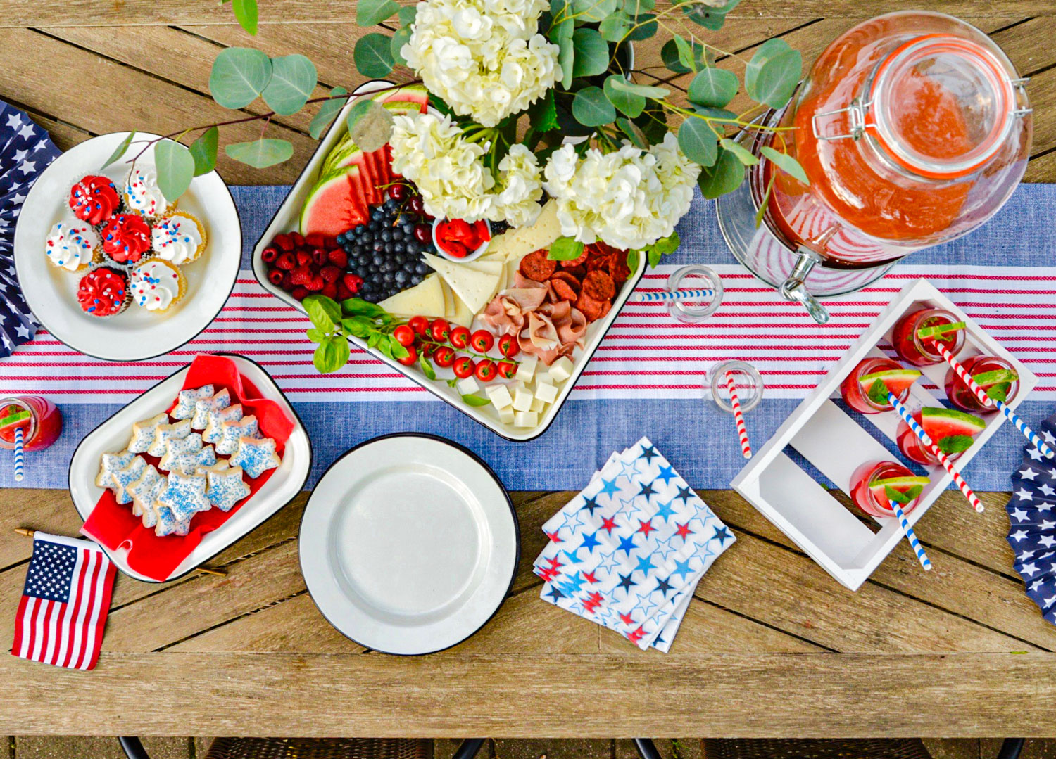 4th of july Party TableCraft Independence Day