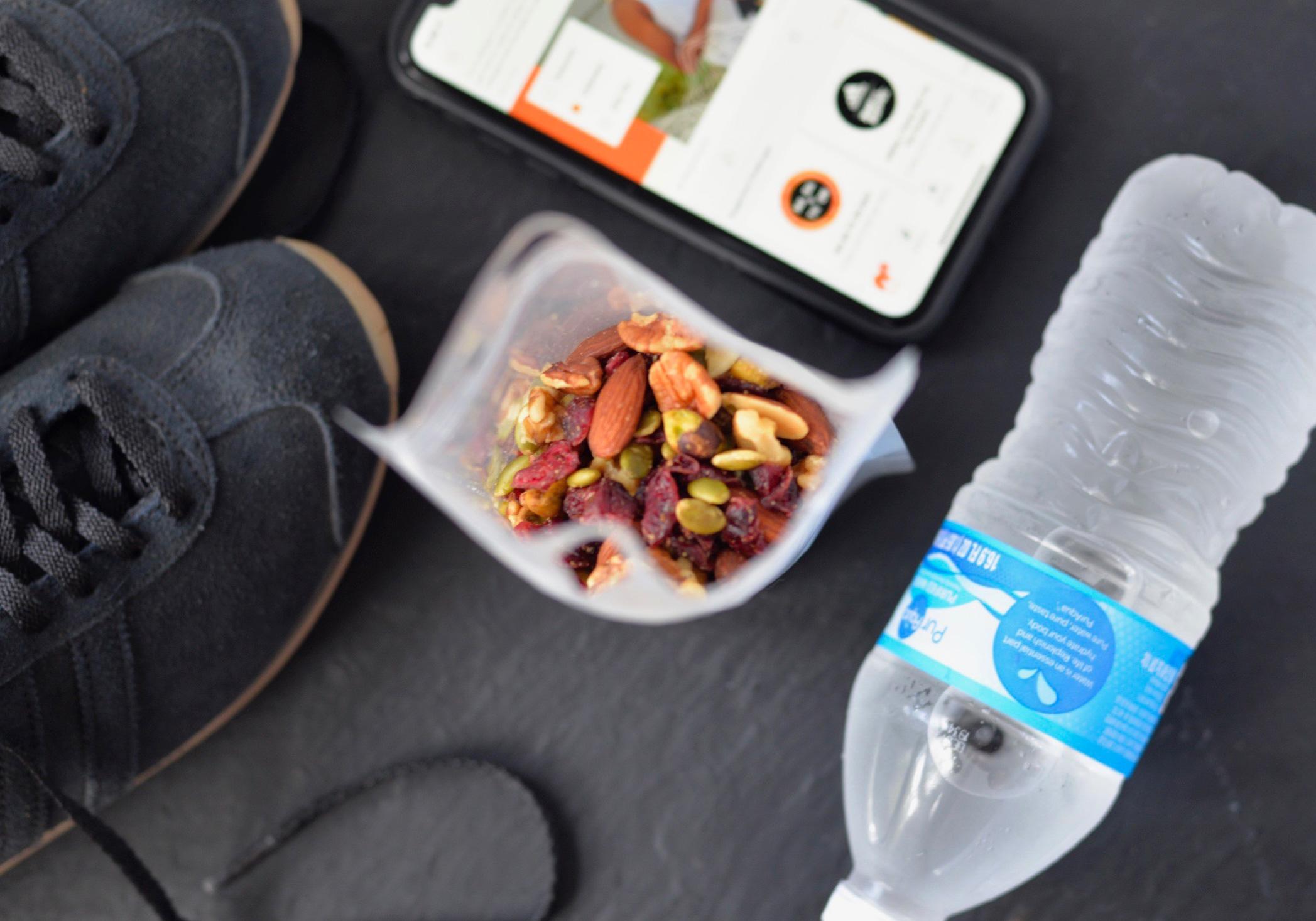 Gym snacks to go pouches tablecraft