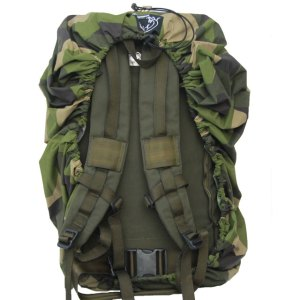 Rucksack Cover M90 mounted