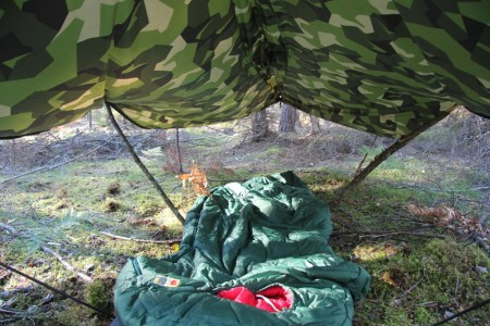 Field tarp Poncho M90 camp