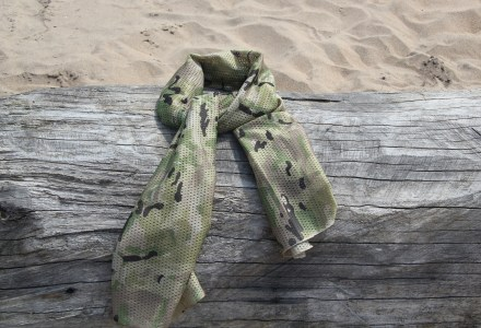 Sniper scarf in Multicamish pattern
