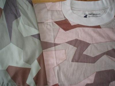 Bad M90K desert t-shirt print