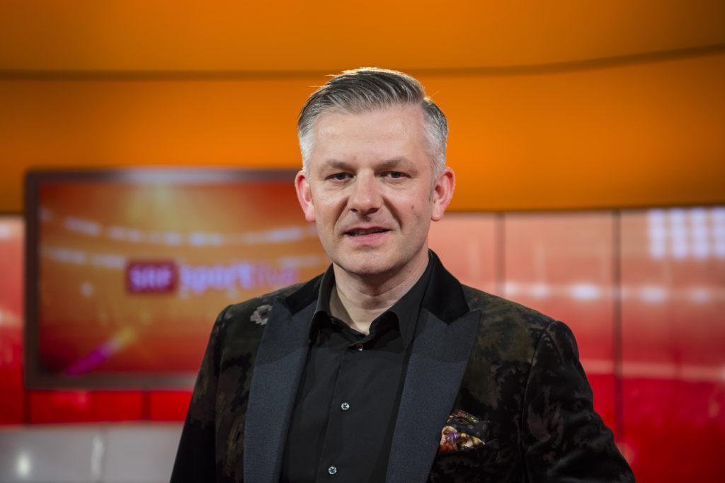 Rainer Maria Salzgeber, Sportjournalist und TV-Moderator, auf die Frage, welches Talent er gerne hätte. (Foto: Reto Oeschger)