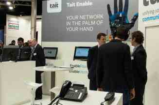 Tait Enable Suite on display at the PMR Expo 2014 -