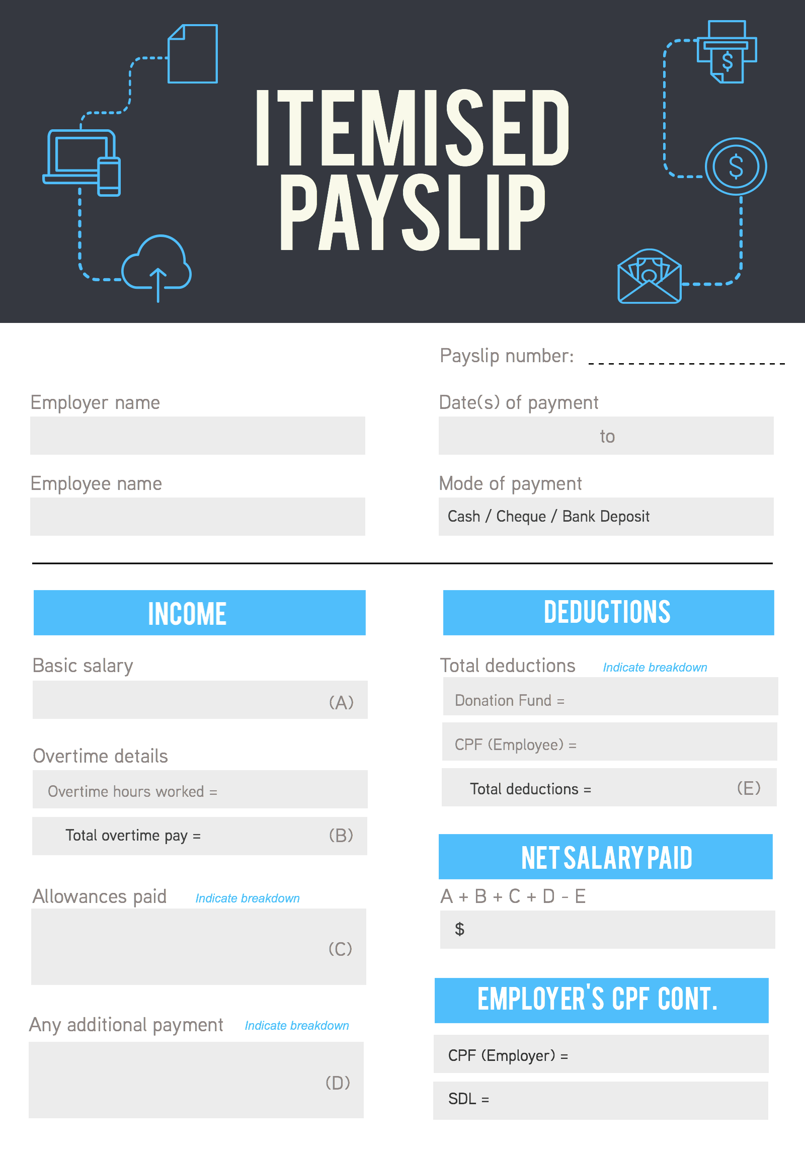 Itemised Payslips For Business Owners