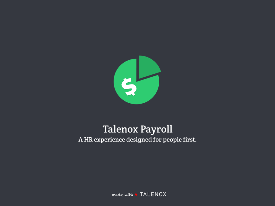 Looking for an Itemised Payslips solution? Introducing Talenox Payroll.