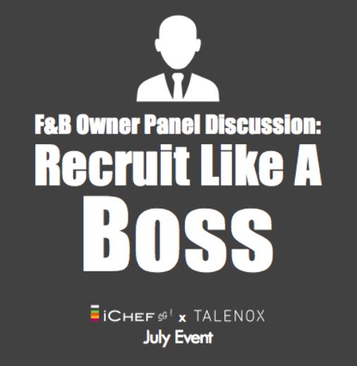 Talenox f&b panel discussion